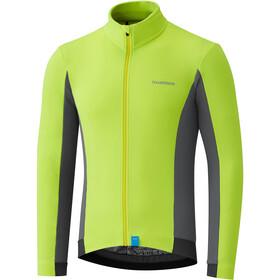 Shimano Thermal LS Jersey Men neon yellow